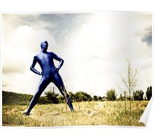 A Day in Blue Zentai lomo 01 Poster