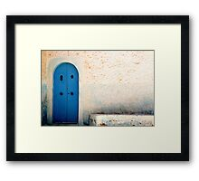 Typical Tunis Framed Print