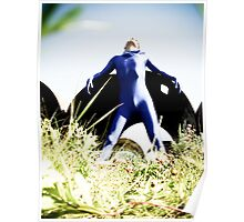 A Day in Blue Zentai lomo 03 Poster