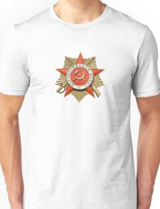 Russian award Unisex T-Shirt