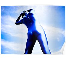 A Day in Blue Zentai lomo 05 Poster
