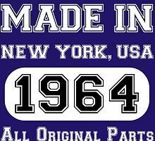 Made in New York Usa 1964 All original Parts by fashionera