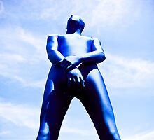 A Day in Blue Zentai lomo 06 by mdkgraphics