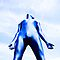 A Day in Blue Zentai lomo 07 by mdkgraphics