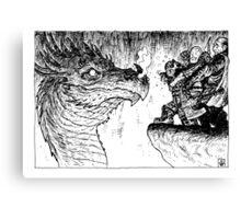 DRUNK DWARF Canvas Print