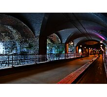 The Dark Arches Leeds Photographic Print