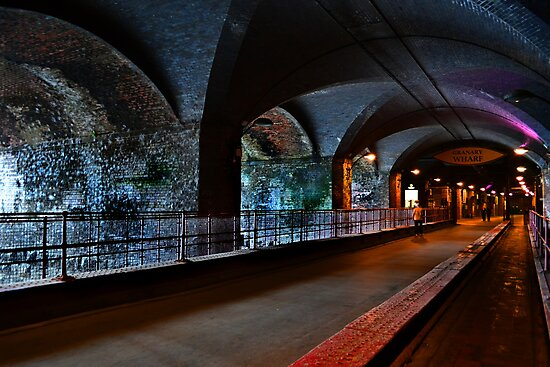 The Dark Arches Leeds by Colin Metcalf