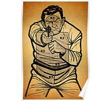 Bad Guy Target Poster