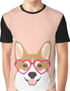 Corgi Love - Welsh Corgi funny nerd art dog lover gifts for pet owners customizable dog gifts Graphic T-Shirt