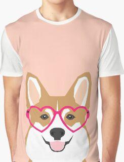 Corgi Love - Welsh Corgi funny nerd art dog lover gifts for pet owners customizable dog gifts Graphic T-Shirt
