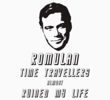 Romulan time travellers almost ruined my life  by sugi007