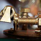 My Litte Metal Dachshund by TJ Baccari Photography