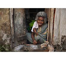 A Warm Smile Photographic Print