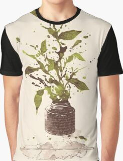 A Writer's Ink Graphic T-Shirt
