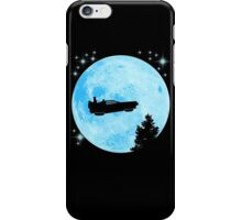 Ufo Car Back to the future iPhone Case/Skin