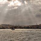 Bosphorus lightshow (3) by Marjolein Katsma