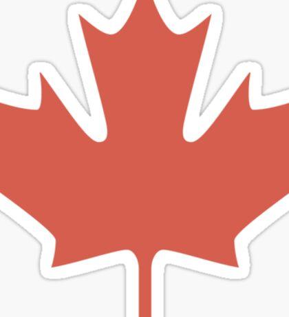 Maple leaves - T-shirt Sticker