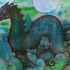 Lusus Naturae - Loch Ness Monster by Lynnette Shelley