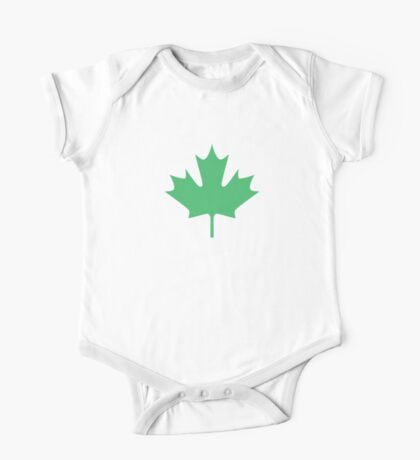 Maple leaf One Piece - Short Sleeve