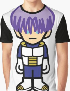 Future Trunks in Armor Graphic T-Shirt