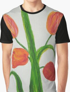 Just Tulips Graphic T-Shirt