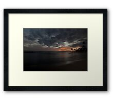 Hawaii - Sunset Framed Print
