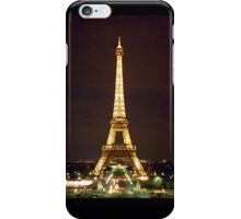 Eiffel Tower at Night iPhone Case/Skin