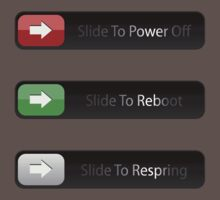 Slide to Power Off / Reboot / Respring ! by Venum Spotah