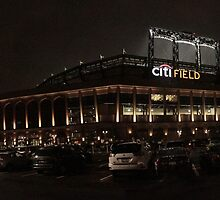 Citi Field by Moonlight by Mookiechan