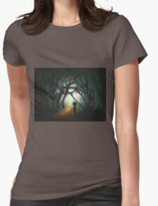 Through the  Dream Womens Fitted T-Shirt
