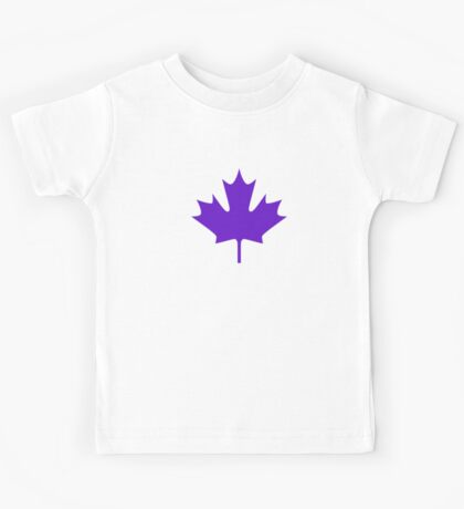 Maple leaves Kids Tee