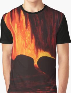 Hawaiian Lava Flow Graphic T-Shirt