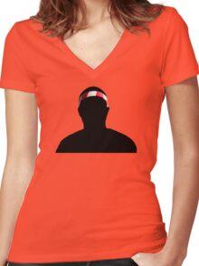 Frank Ocean Women's Fitted V-Neck T-Shirt