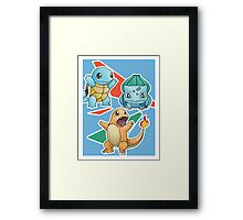 Make your choice! Framed Print