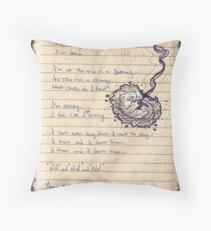 Pro-Choice Poetry Throw Pillow