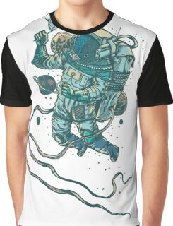 Peace In Space  Graphic T-Shirt