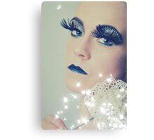 Glitter Queen Canvas Print