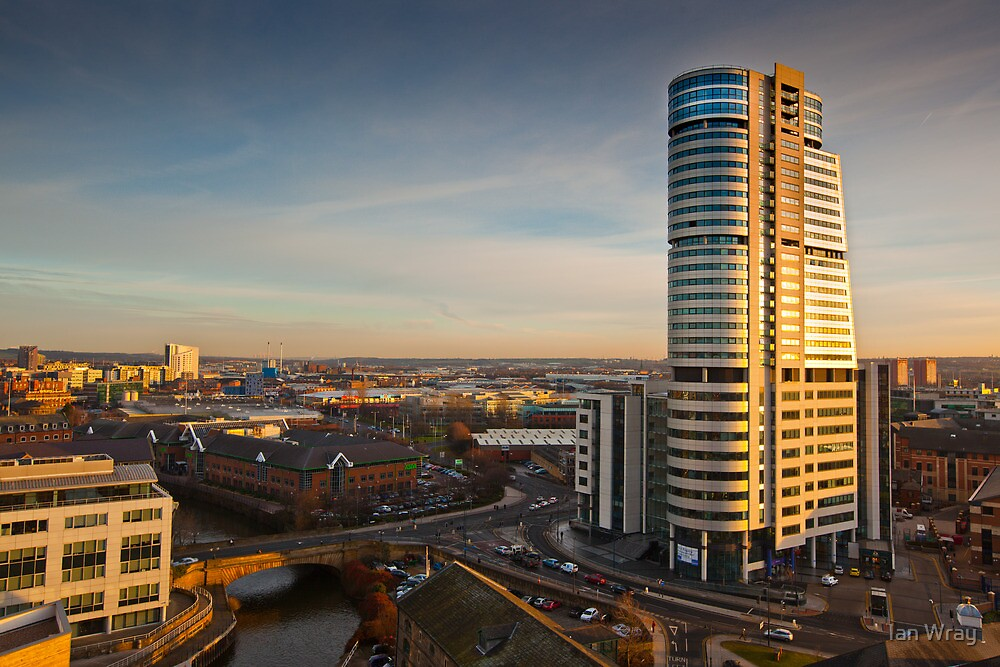 Bridgewater Place and the View to the South by Ian Wray