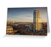 Bridgewater Place and the View to the South Greeting Card