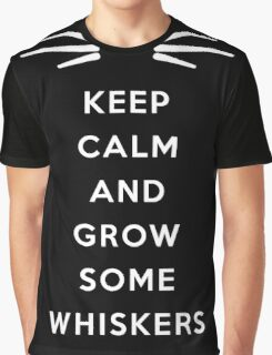GROW SOME WHISKERS II Graphic T-Shirt
