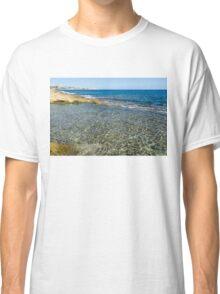 Mediterranean Delight - Maltese Natural Beach Pool Classic T-Shirt