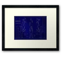 Juggler Elevations  Framed Print