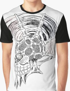 Punk Skull - plain Graphic T-Shirt