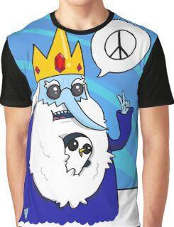 Ice King-Peace! Graphic T-Shirt