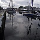 reflections at the Dock, Hobart  by gaylene