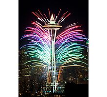 Seattle New Year Photographic Print