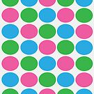 Colorful Dots by NatCulls