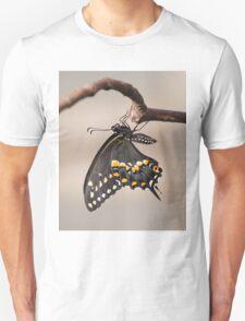 Pre-Flight Black Swallowtail Unisex T-Shirt