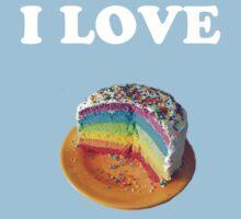 Rainbow Cake by Duckmuncher