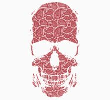 Day of the Dead - Paisley Skull Baby Tee